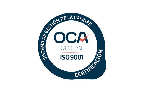 Obtención certificado de calidad ISO 9001